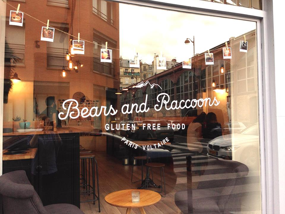 BEARS AND RACCOONS – Sandwich & Coffee shop sans gluten