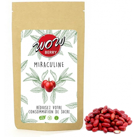Miraculine (Baie du miracle) – WOWBERRY