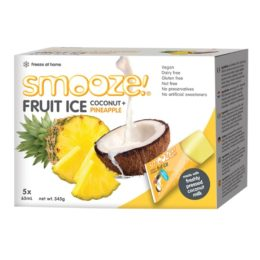 Glaces Ananas Coco (ambiant) x5 – SMOOZE