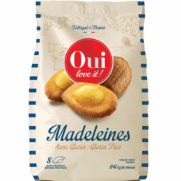 Madeleines sans gluten – OUI LOVE IT